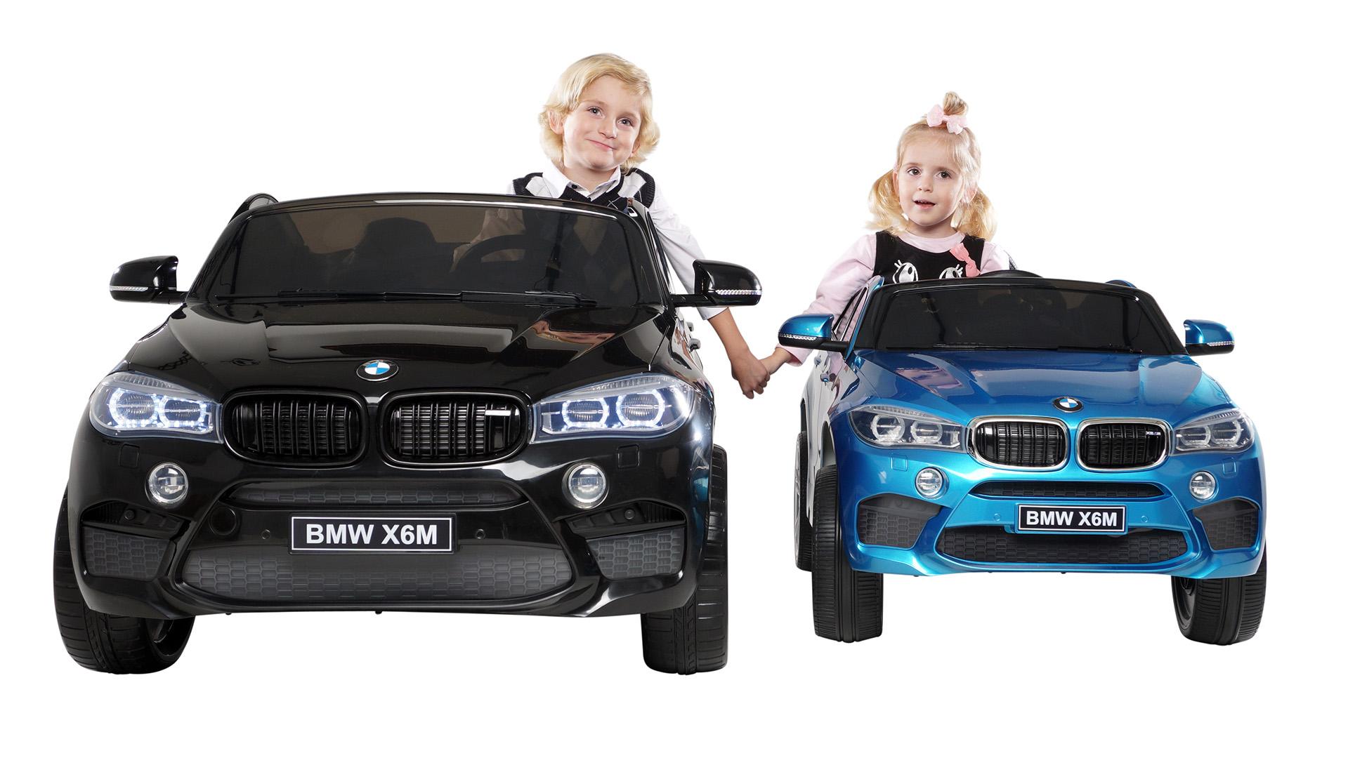 iwheels kinder elektroauto bmw x6m f16 xxl zweisitzer. Black Bedroom Furniture Sets. Home Design Ideas