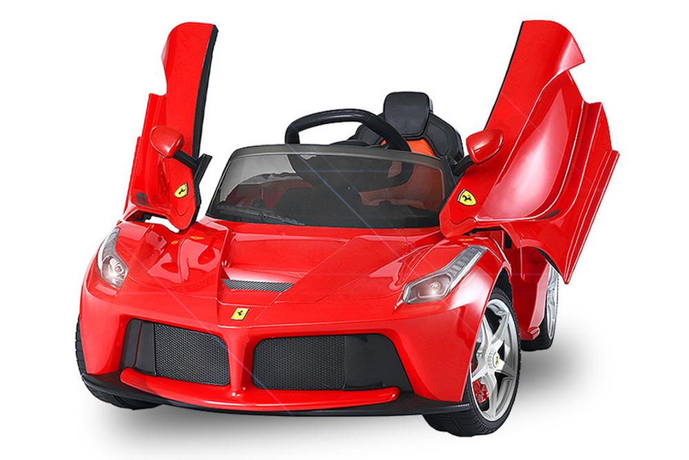 Iwheels Kinder Elektroauto Ferrari Laferrari Original Lizenz Auto 2 X 25 Watt Motor Lizenz Kinder Elektro Auto Ferrari Laferrari 2x 25w 12v