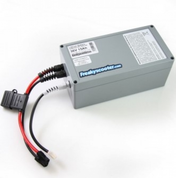 iwheels 36V 15Ah SAMSUNG Lithium Batterie Li Ion 540Wh